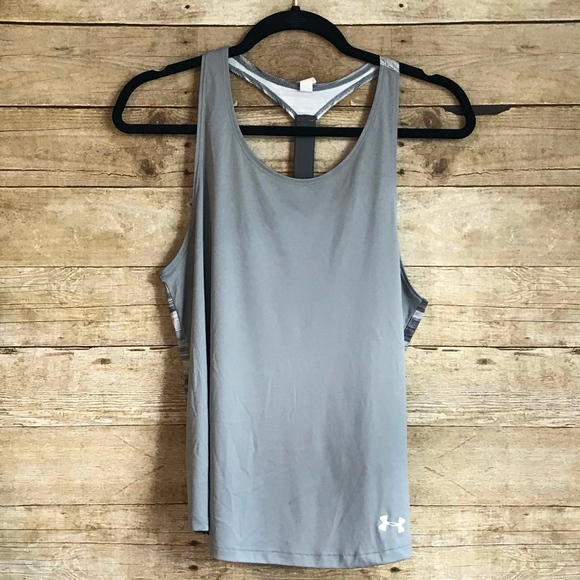 Under Armour Other - youth under armour racer back tank etc size xl